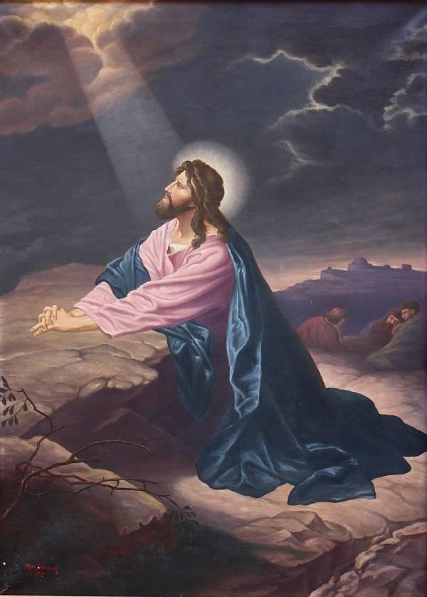 Jesus Auf Dem ölberg